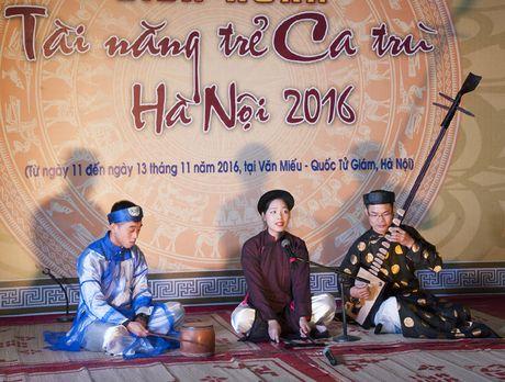 Lien hoan tai nang tre ca tru Ha Noi - 2016 - Anh 3