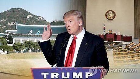Tong thong dac cu Donald Trump tai cam ket dam bao an ninh cho Han Quoc - Anh 1