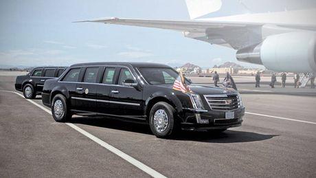 Sieu limousine cua Tong thong Donald Trump co gi moi? - Anh 1