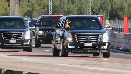 Sieu limousine cua Tong thong Donald Trump co gi moi? - Anh 2