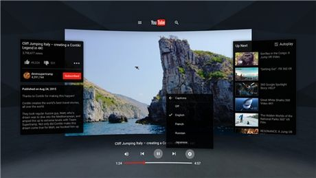 YouTube VR chinh thuc 'cap ben' Google Play - Anh 2