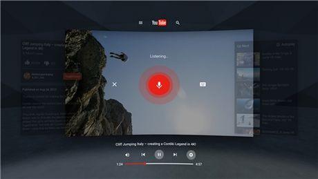 YouTube VR chinh thuc 'cap ben' Google Play - Anh 3
