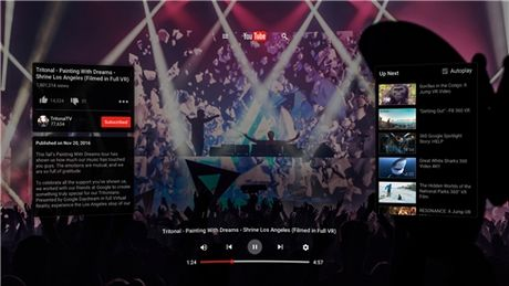 YouTube VR chinh thuc 'cap ben' Google Play - Anh 4