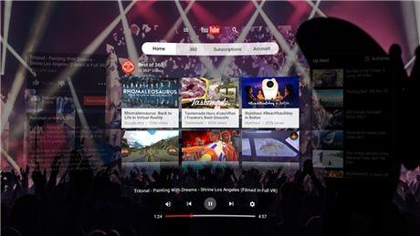 YouTube VR chinh thuc 'cap ben' Google Play - Anh 5