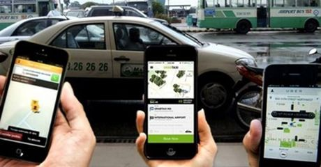 Uber tang cuoc, vinh biet taxi gia re? - Anh 1