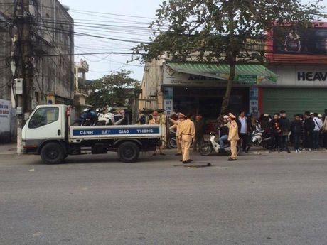 Thai Binh: Truy tim chiec xe cau bo chay sau khi va cham khien nu sinh thiet mang - Anh 1