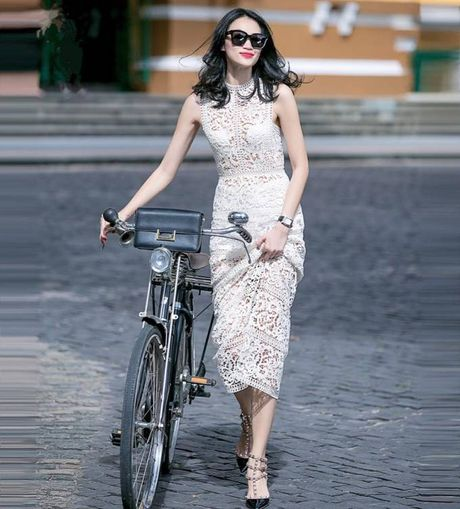Street style voi xe dap xua roi nhung Huong thich thi Huong chup thoi! - Anh 14