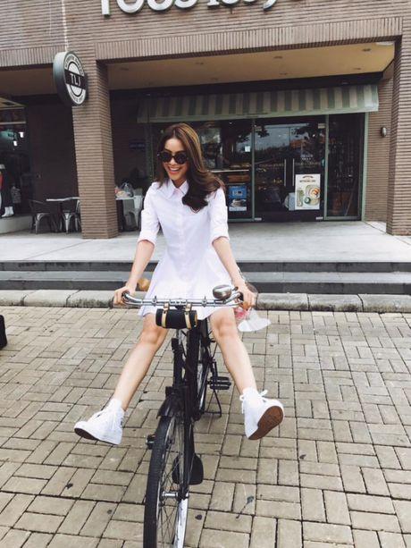 Street style voi xe dap xua roi nhung Huong thich thi Huong chup thoi! - Anh 2