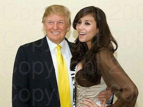 Nguoi dep Viet hanh dien khi tung duoc chup hinh, gap go tan Tong thong My Donald Trump - Anh 1