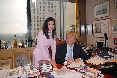 Nguoi dep Viet hanh dien khi tung duoc chup hinh, gap go tan Tong thong My Donald Trump - Anh 4