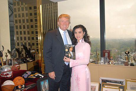 Nguoi dep Viet hanh dien khi tung duoc chup hinh, gap go tan Tong thong My Donald Trump - Anh 5