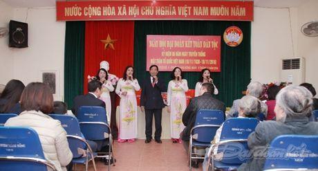 Pho Chu tich Bui Thi Thanh du ngay hoi dai doan ket tai phuong Hang Bong - Anh 2