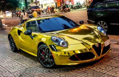 Alfa Romeo 4C Sai Gon ma vang phong cach dan choi Dubai - Anh 2