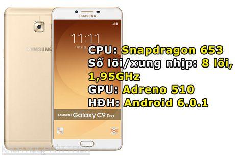 Tren tay smartphone RAM 6 GB, camera selfie 16 MP cua Samsung - Anh 1