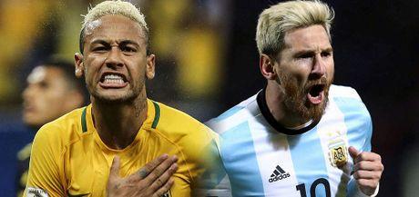 Brazil 1-0 Argentina: Coutinho ghi sieu pham (H1) - Anh 1