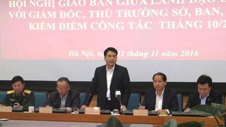 Chu tich Ha Noi: Co the cho thoi viec can bo danh cu ong - Anh 1