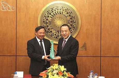 Tong cuc truong Nguyen Van Tuan tiep Pho tinh truong tinh Hai Nam (Trung Quoc) - Anh 2