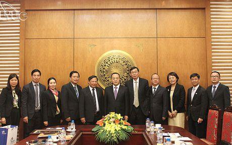 Tong cuc truong Nguyen Van Tuan tiep Pho tinh truong tinh Hai Nam (Trung Quoc) - Anh 3