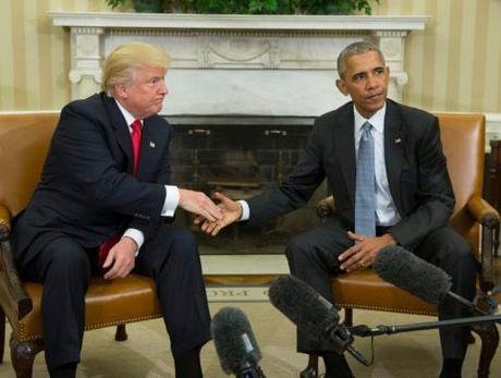 Donald Trump khen Barack Obama la 'nguoi dan ong rat tot' - Anh 1
