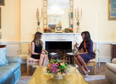 Donald Trump khen Barack Obama la 'nguoi dan ong rat tot' - Anh 2