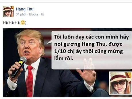 Tong thong dac cu Donald Trump 'noi gi ve ban'? - Anh 1