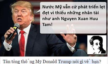 Tong thong dac cu Donald Trump 'noi gi ve ban'? - Anh 3