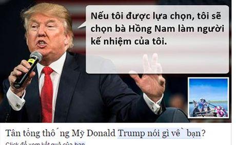 Tong thong dac cu Donald Trump 'noi gi ve ban'? - Anh 5