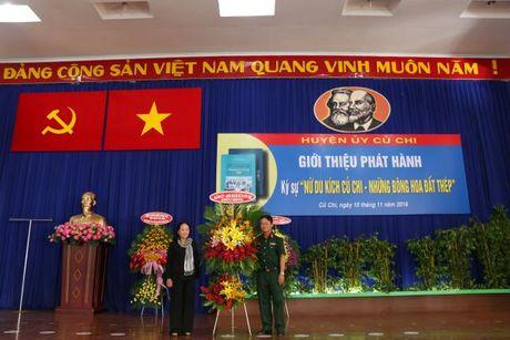 H. Cu Chi, TP.HCM: Gioi thieu phat hanh ky su 'Nu Du kich Cu Chi – Nhung bong hoa dat thep' - Anh 2
