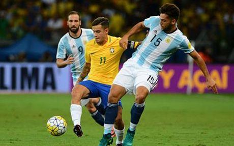Chiem nguong sieu pham cua Coutinho vao luoi Argentina - Anh 1
