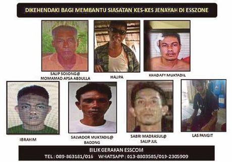 Malaysia cong bo danh sach truy na 23 ke chuyen bat coc tren bien - Anh 1