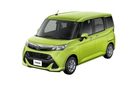 Bo doi Toyota Roomy va Tank minivan ra mat tai Nhat Ban - Anh 10