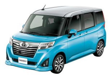 Bo doi Toyota Roomy va Tank minivan ra mat tai Nhat Ban - Anh 1