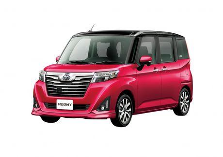 Bo doi Toyota Roomy va Tank minivan ra mat tai Nhat Ban - Anh 2