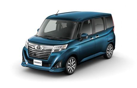 Bo doi Toyota Roomy va Tank minivan ra mat tai Nhat Ban - Anh 4