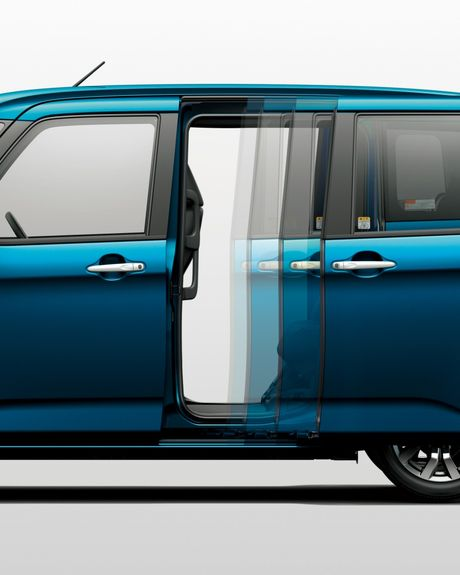 Bo doi Toyota Roomy va Tank minivan ra mat tai Nhat Ban - Anh 5