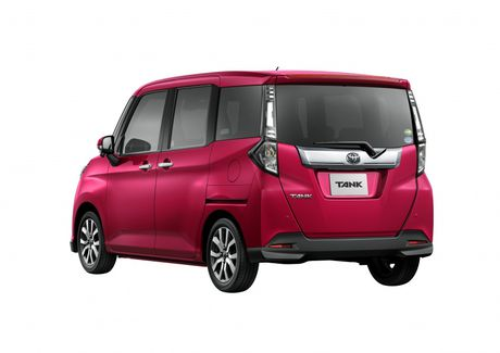Bo doi Toyota Roomy va Tank minivan ra mat tai Nhat Ban - Anh 8