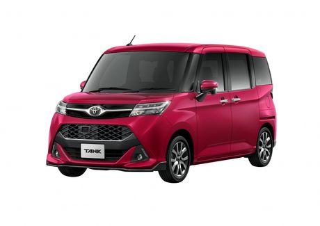 Bo doi Toyota Roomy va Tank minivan ra mat tai Nhat Ban - Anh 9