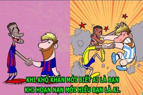 HAU TRUONG (12.11): Messi va Neymar 'huynh de tuong tan' - Anh 3