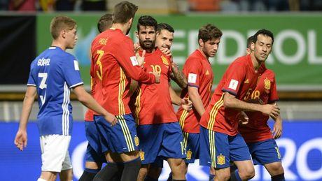02h45 ngay 13/11, Tay Ban Nha vs Macedonia: Dao choi tren san nha - Anh 1