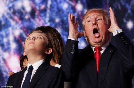 Anh dang yeu cua cau ut banh trai nhat nha ong Donald Trump - Anh 3