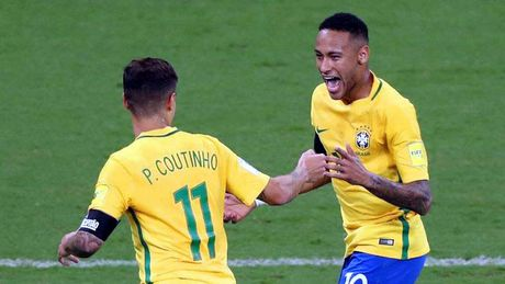 Neymar lam lu mo Lionel Messi - Anh 1