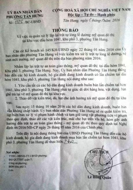 Quan 7, TP. Ho Chi Minh: Doanh nghiep 'kho tho' vi cach quan ly cua phuong - Anh 2
