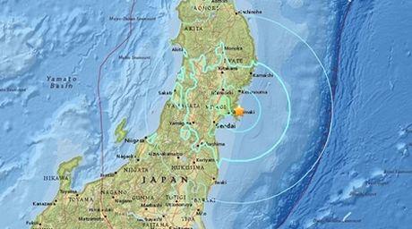 Lai xuat hien dong dat manh 6,2 do richter gan Fukushima - Anh 1
