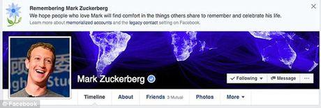 Mark Zuckerberg bi bao tu tren Facebook - Anh 1