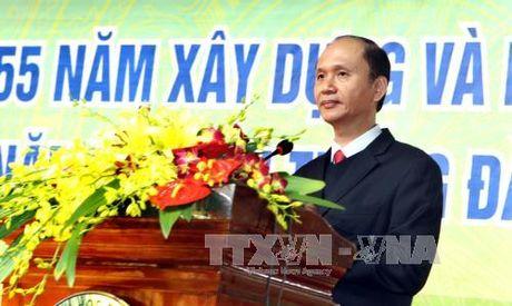 Truong Dai hoc Duoc Ha Noi ky niem 55 nam thanh lap - Anh 1