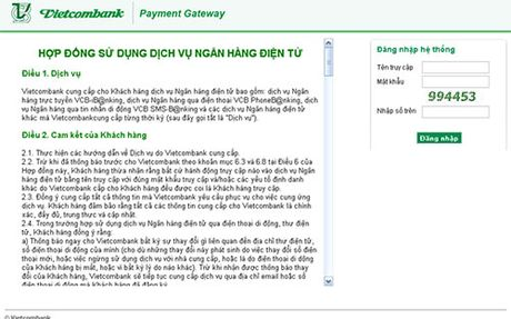 Vietnamworks bi tan cong, Vietcombank canh bao rui ro - Anh 1