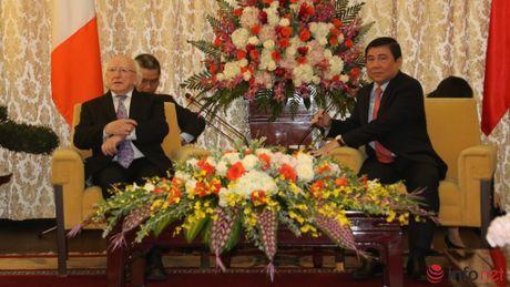 Tong thong Ireland tham va lam viec tai Thanh pho Ho Chi Minh - Anh 2