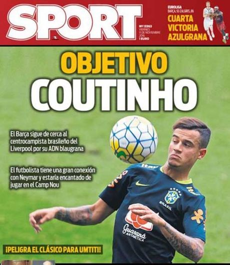 Me man Coutinho, Barca se pha ket vao he 2017 - Anh 1