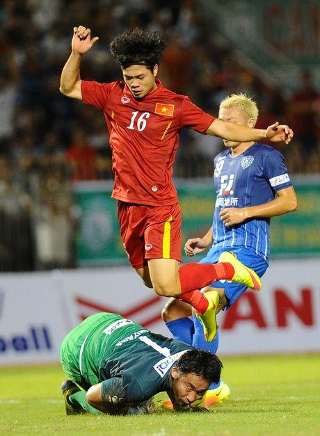 Viet Nam - Avispa Fukuoka 0-0: Cong Phuong bo qua nhieu co hoi ghi ban - Anh 2
