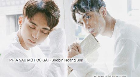 'Phia sau mot co gai' cua Soobin Hoang Son vuot qua ca Son Tung M-TP - Anh 1